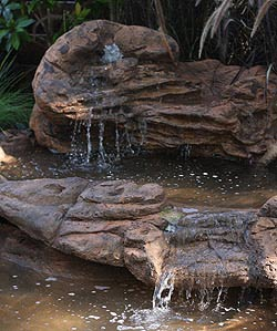 Garden Pond Design With Waterfall